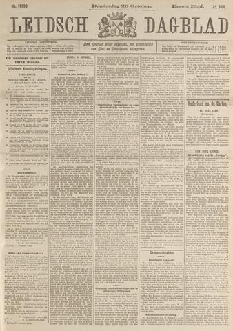 Leidsch Dagblad 1916-10-26