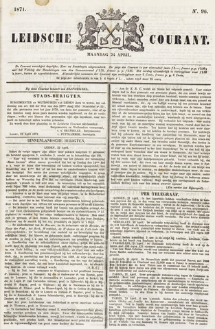 Leydse Courant 1871-04-24