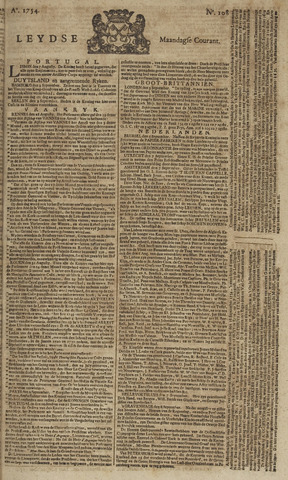Leydse Courant 1754-09-09