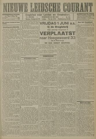 Nieuwe Leidsche Courant 1923-05-30