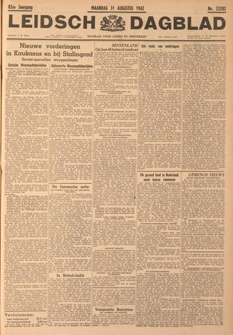 Leidsch Dagblad 1942-08-31