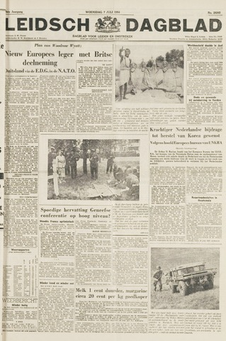 Leidsch Dagblad 1954-07-07