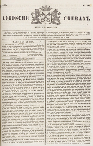 Leydse Courant 1875-08-20