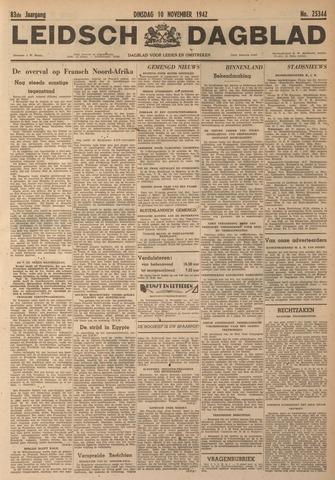 Leidsch Dagblad 1942-11-10