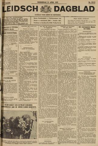 Leidsch Dagblad 1932-04-21