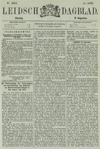 Leidsch Dagblad 1876-08-15