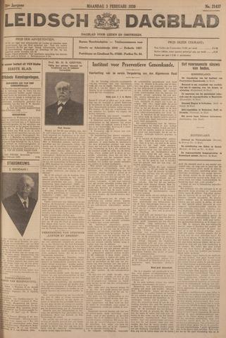 Leidsch Dagblad 1930-02-03