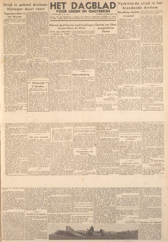 Dagblad voor Leiden en Omstreken 1944-09-26