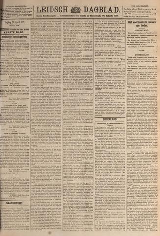 Leidsch Dagblad 1921-04-29