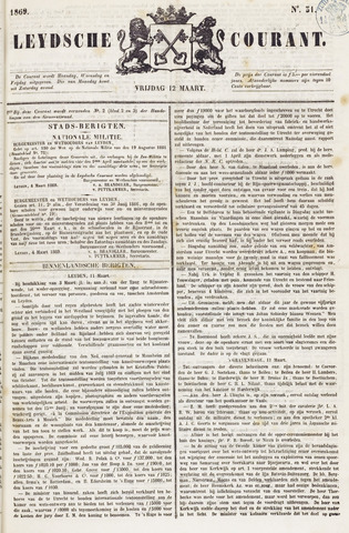 Leydse Courant 1869-03-12