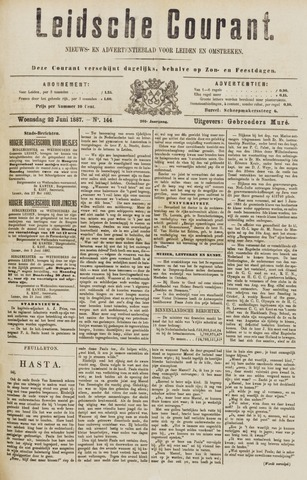 Leydse Courant 1887-06-22