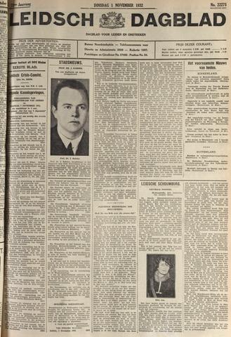 Leidsch Dagblad 1932-11-01