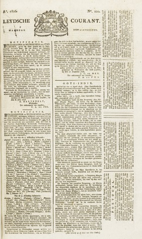 Leydse Courant 1826-08-21