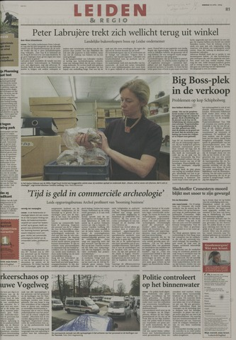 Leidsch Dagblad 2004-04-20