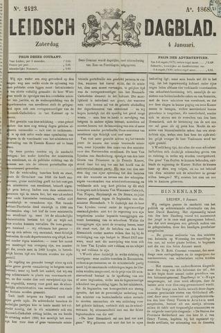 Leidsch Dagblad 1868-01-04