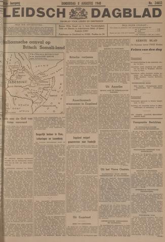 Leidsch Dagblad 1940-08-08