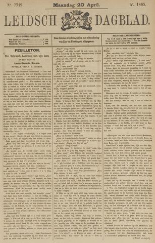 Leidsch Dagblad 1885-04-20
