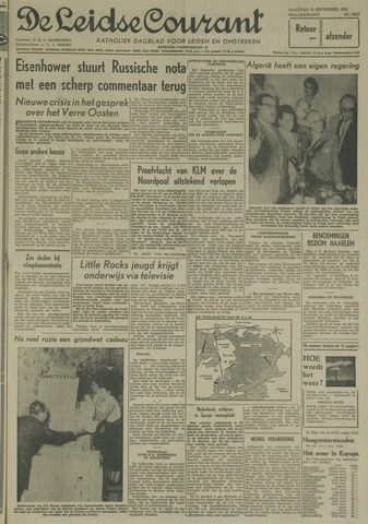 Leidse Courant 1958-09-22