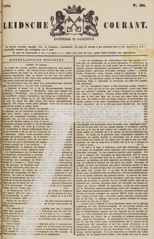 Leydse Courant 1884-08-30
