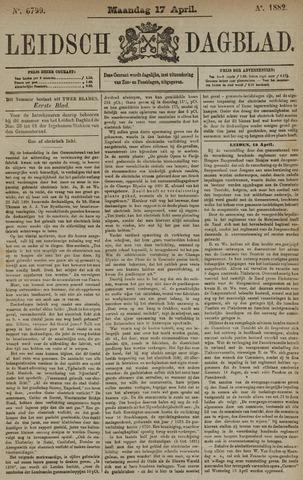 Leidsch Dagblad 1882-04-17