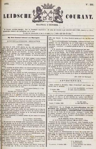 Leydse Courant 1882-10-09