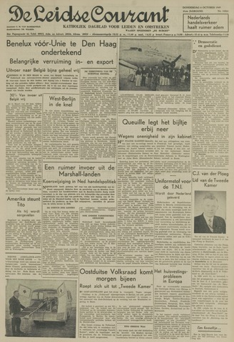 Leidse Courant 1949-10-06