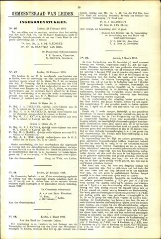 Handelingen van de Raad 1918-02-23