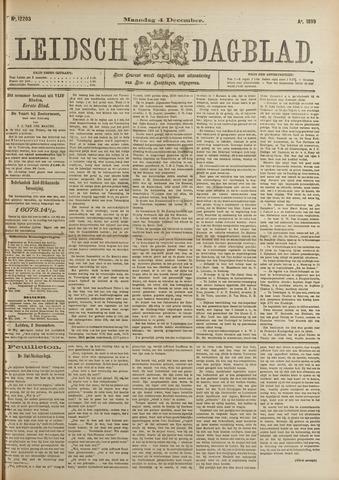 Leidsch Dagblad 1899-12-04