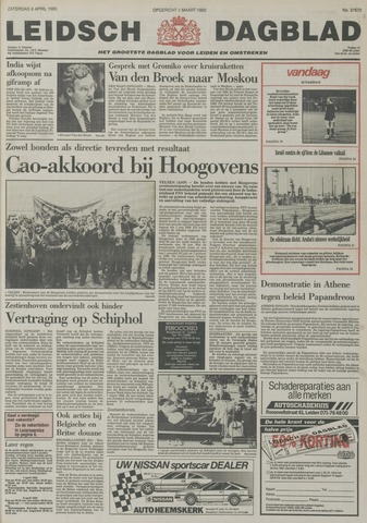 Leidsch Dagblad 1985-04-06