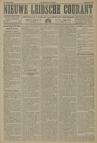 Nieuwe Leidsche Courant 1927-07-19