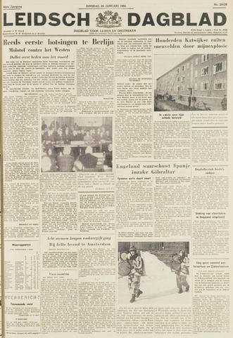 Leidsch Dagblad 1954-01-26