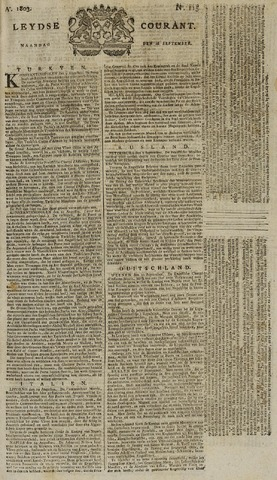 Leydse Courant 1803-09-26
