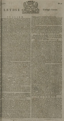 Leydse Courant 1727-02-28