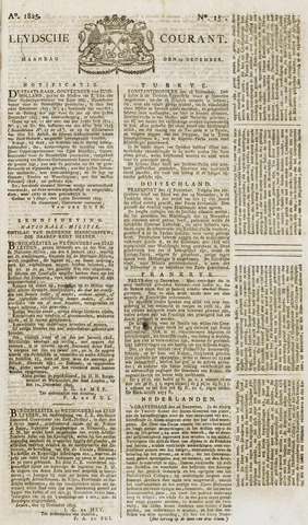 Leydse Courant 1825-12-19