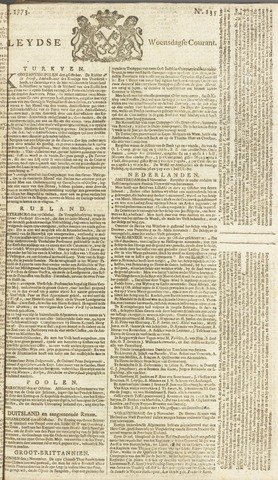 Leydse Courant 1773-11-10