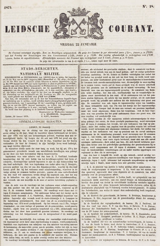 Leydse Courant 1875-01-22