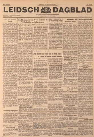 Leidsch Dagblad 1947-08-15