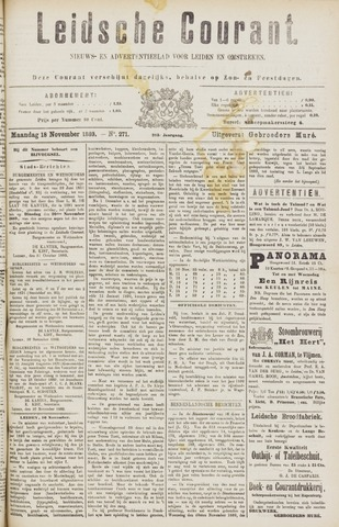 Leydse Courant 1889-11-18