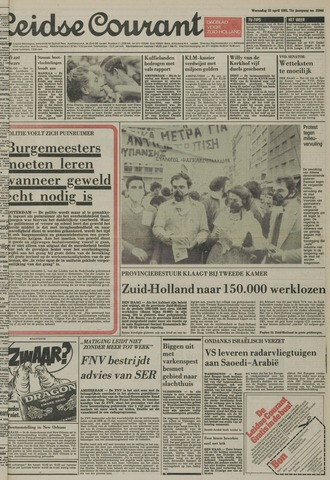 Leidse Courant 1981-04-22