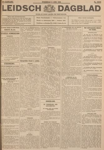 Leidsch Dagblad 1928-06-06