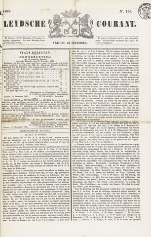 Leydse Courant 1865-12-22