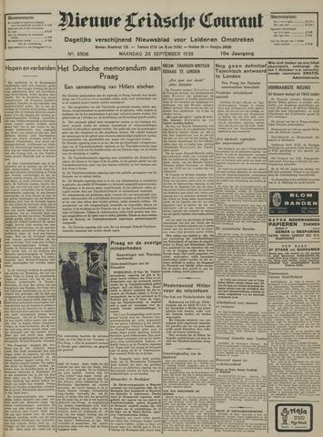 Nieuwe Leidsche Courant 1938-09-26