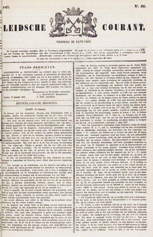 Leydse Courant 1877-01-26