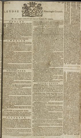 Leydse Courant 1773-03-29
