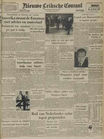 Nieuwe Leidsche Courant 1957-02-09