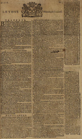 Leydse Courant 1778-01-12