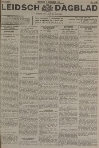 Leidsch Dagblad 1935-09-09