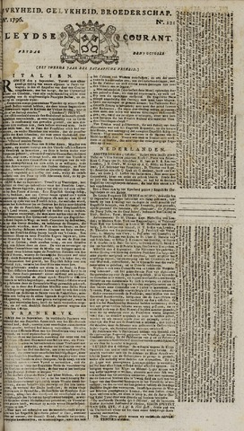 Leydse Courant 1796-10-07