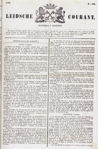 Leydse Courant 1876-08-09