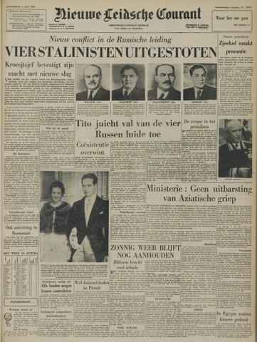 Nieuwe Leidsche Courant 1957-07-04